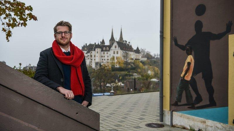 Baptiste Hurni a été élu président de la Croix-Rouge neuchâteloise