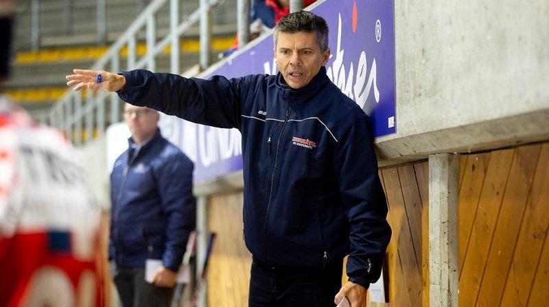 Le HC Université Neuchâtel prolonge le contrat de Marc Gaudreault