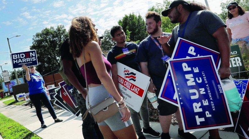 Présidentielle américaine: le scrutin qui fait craindre un chaos postélectoral