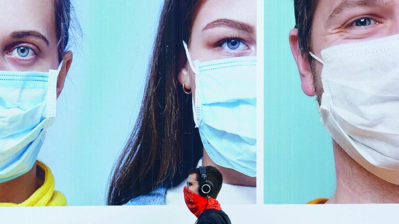 Coronavirus: seuls les masques en tissu peuvent être lavés