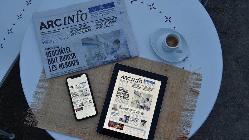 Les résultats de la Remp viennent récompenser la stratégie éditoriale d'«ArcInfo» axée sur l'information locale.