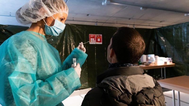 Covid: un nouveau centre de dépistage à Cernier pour des résultats en «maximum 48h»