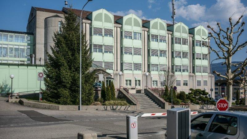 Le site de Delémont, de l'Hôpital du Jura.