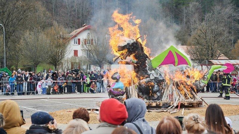 Il n'y aura pas de mise à feu du bonhomme hiver, ici en 2019, l'année prochaine à Fleurier.