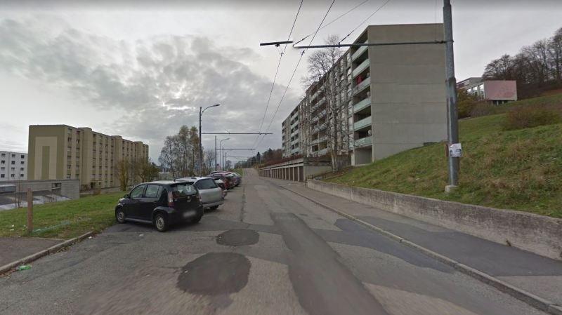 Cycliste blessé à La Chaux-de-Fonds