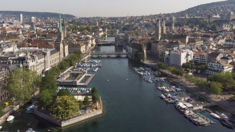 Zurich rejoint le trio de tête des villes les plus chères au monde en raison du renforcement du franc sur le marché des changes (archives).
