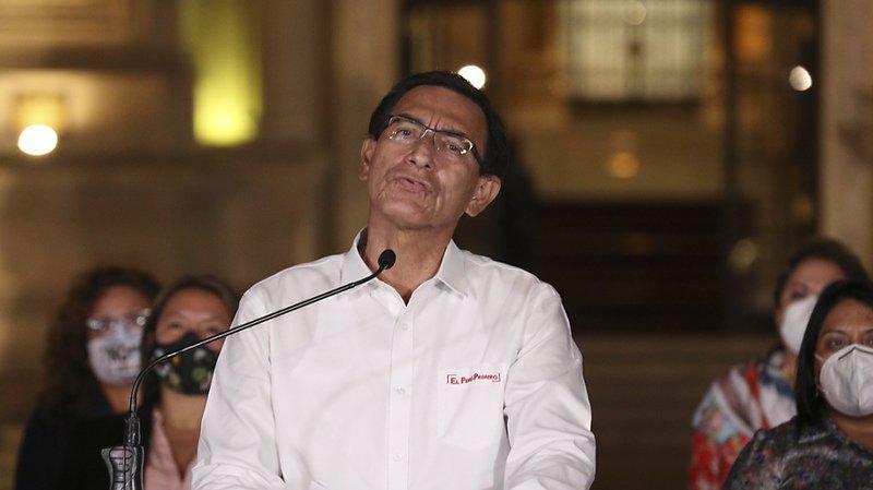 Vizcarra destitué par le Parlement à la seconde tentative — Pérou