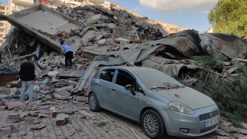Séisme en Turquie et en Grèce: au moins 14 morts et 400 blessés