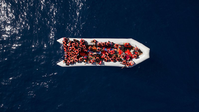 Au moins 74 morts dans un naufrage au large de la Libye