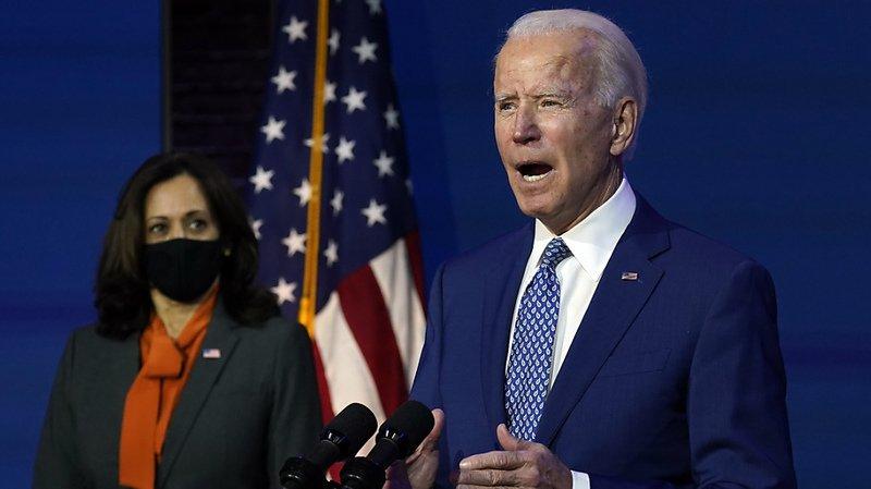 Présidentielle américaine: Joe Biden se met au travail en faisant fi des résistances de Trump