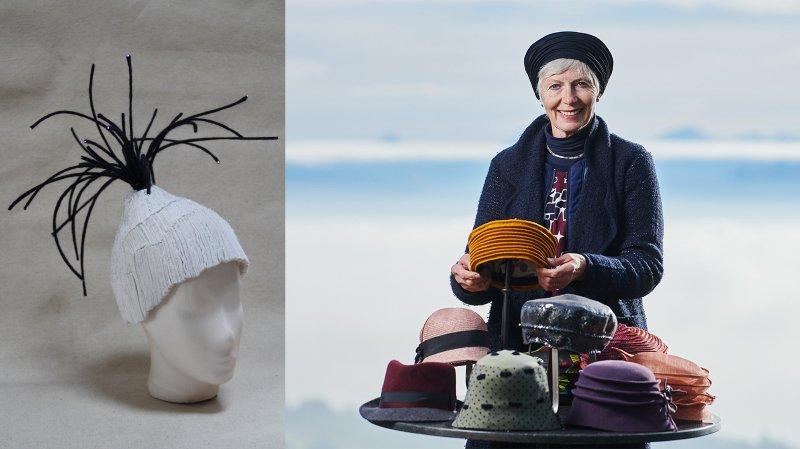 Une Vaudruzienne rafle un premier prix avec sa coiffe inspirée des sommets immaculés