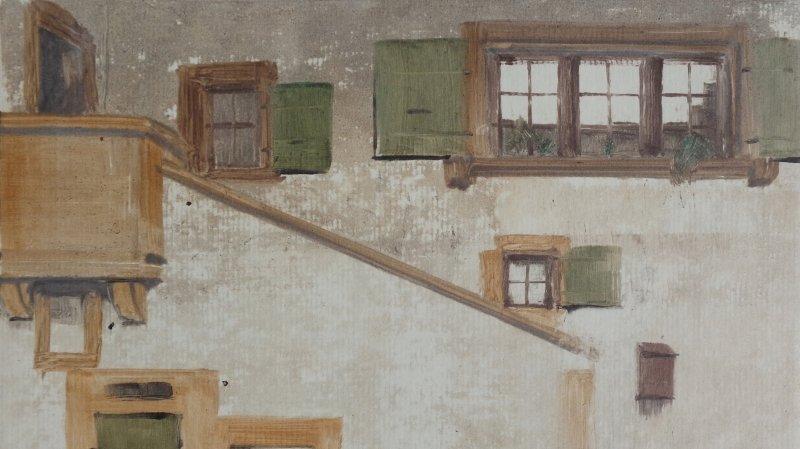 P.-Y. Gabioud - monotypes, fusains / M.-M. Adatte