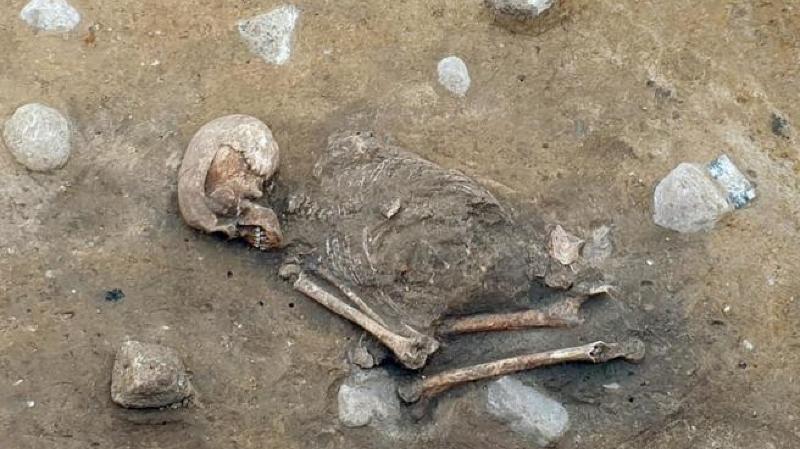 Archéologie: découverte de la «dame de Bietikow», âgée de plus de 5000 ans