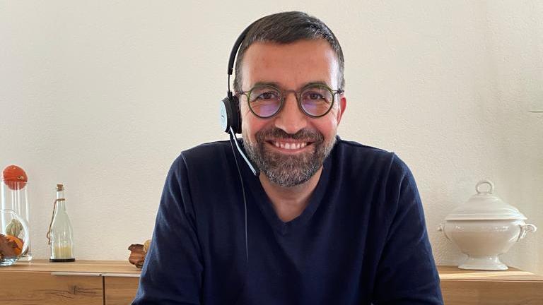Hervé Gullotti a annoncé sa candidature via une vidéoconférence.