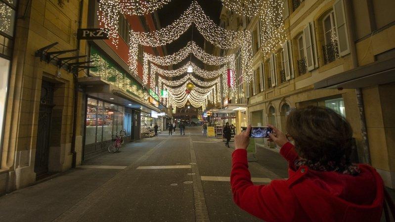 Un Noël pas comme les autres pour les commerçants neuchâtelois