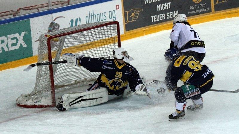 Hockey sur glace: le HCC a failli réussir sa reprise à Langenthal