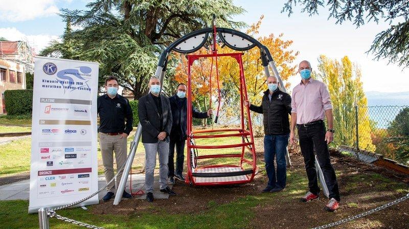 Neuchâtel: une balançoire pour fauteuil roulant offerte aux Perce-Neige