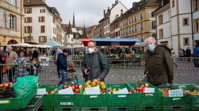 Covid: la campagne neuchâteloise pour l'économie locale porte ses fruits