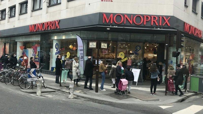 Campagne d'affichage: Monoprix se moque de certaines mesures sanitaires contre le coronavirus