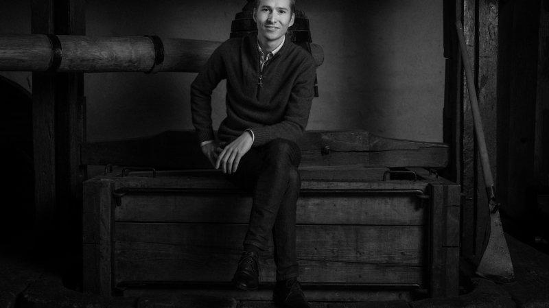Morgan Meier a repris le domaine familial des Landions en 2015 après un séjour en Bourgogne.