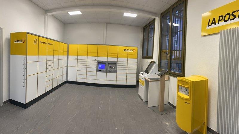 La Poste inaugure un nouvel automate à colis à La Chaux-de-Fonds