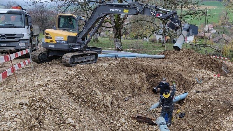 Jura bernois: le Haut-Vallon continue de moderniser son système d'alimentation en eau potable