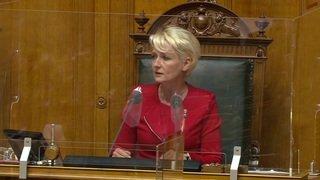Coronavirus: Isabelle Moret rappelle les gestes barrières et lance un appel citoyen