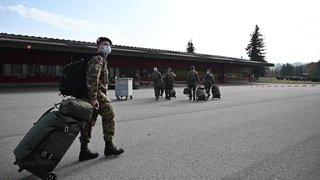 Coronavirus: l'armée en soutien des hôpitaux romands