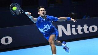 Tennis – Masters de Londres: battu en demi-finale, Novak Djokovic n'égalera pas Roger Federer