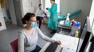 Covid-19: un nouveau centre de dépistage ouvrira à Cernier