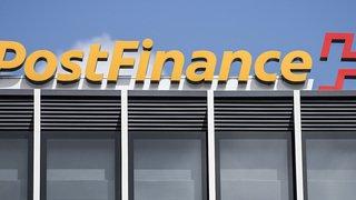 Banques: Postfinance biffe 130 postes à plein temps