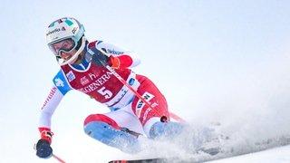 Ski alpin: Michelle Gisin deuxième derrière Petra Vlhova au slalom de Levi
