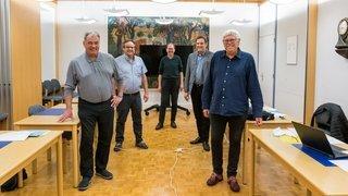 Cortaillod: cinq hommes élus au Conseil communal
