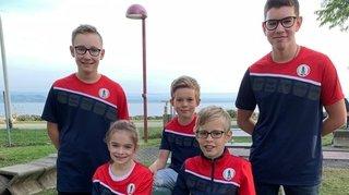 Les jeunes joueurs de minigolf se mobilisent pour sauver le parcours de Neuchâtel