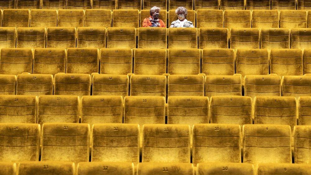Les salles obscures pourront rouvrir le 19décembre, mais elles ne pourront pas accueillir plus de 50 spectateurs (image d'illustration).