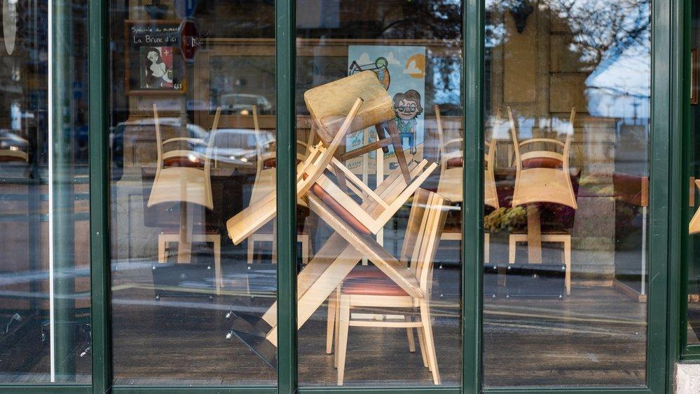 Les restaurants rouvriront le 10 décembre dans le canton de Neuchâtel. Archives: Lucas Vuitel