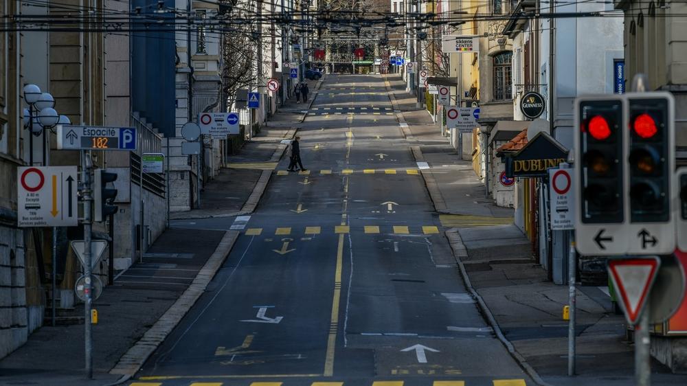 La rue du Dr Coullery, bientôt accessible aux vélos.