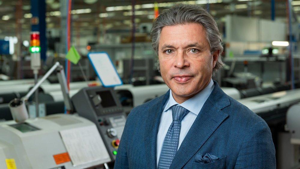 Emmanuel Raffner, propriétaire et directeur de Lauener.