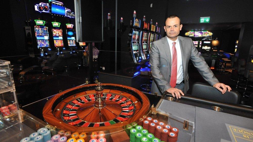 Le directeur général du Casino de Neuchâtel, Pascal Passarelli.