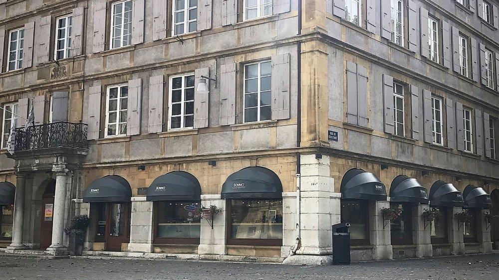 Fondée à La Chaux-de-Fonds, la Bijouterie Bonnet a ouvert une boutique à Neuchâtel en 1970