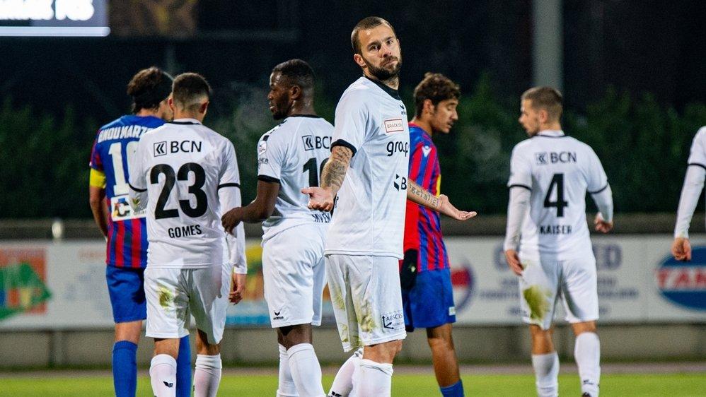 """Xamax n'a pas évolué """"au niveau qui est le sien"""" face à Chiasso, estime Igor Djuric, le défenseur """"rouge et noir""""."""