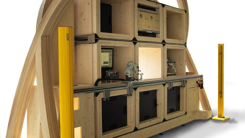 La micro-usine en voie de développement à la He-Arc pourrait produire de premières pièces autour de 2025.