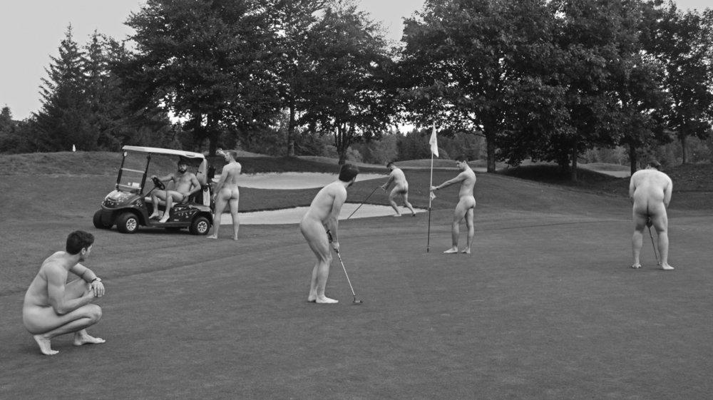 C'est tout de même choquant de voir des rugbymen jouer au golf...