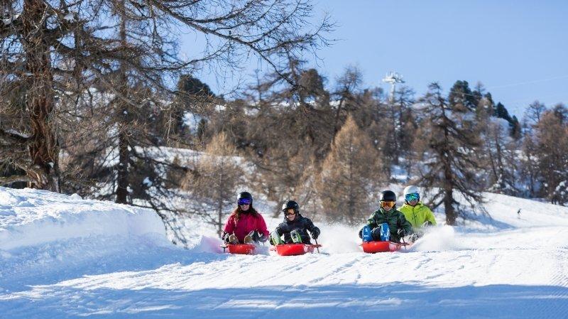 A faire cet hiver: lancez-vous sur la piste de luge de la Tzoumaz!