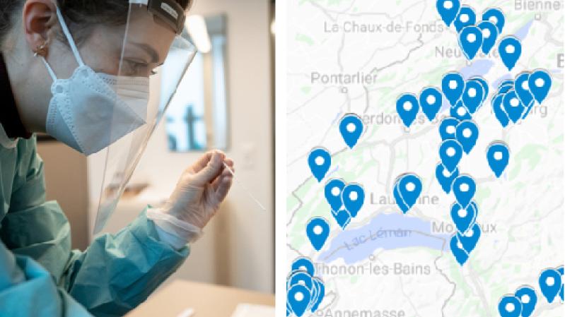 Coronavirus: quelles pharmacies proposent les tests rapides en Suisse romande?