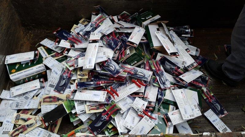 Près de 400 faux sécateurs de la marque neuchâteloise Felco saisis en Hongrie