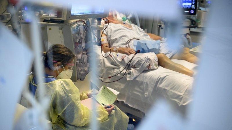 Covid-19: les hospitalisations amorcent une baisse dans le canton de Neuchâtel