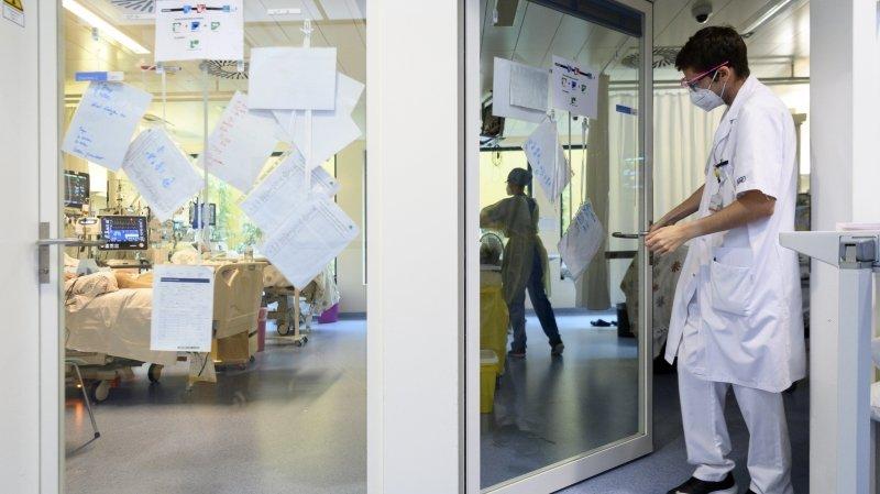Covid-19: les soins intensifs toujours sous tension à Neuchâtel