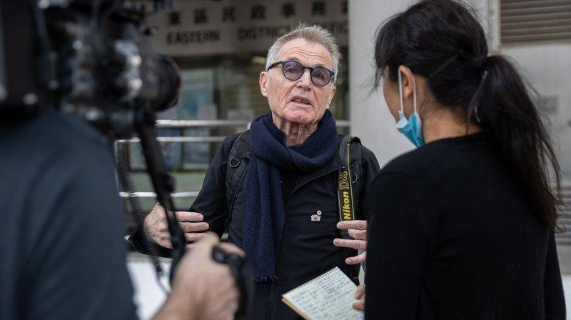 Hong Kong: le photographe neuchâtelois Marc Progin à nouveau dans le viseur de la justice