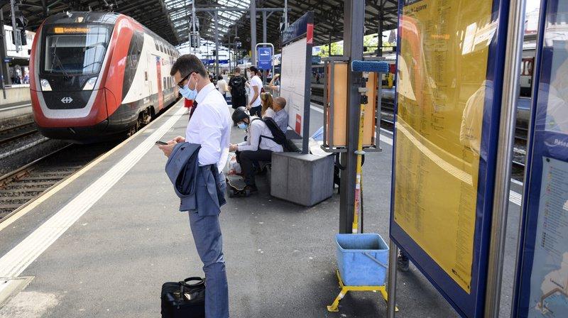 Trafic ferroviaire: le nouvel horaire 2021 des CFF va entrer en vigueur dimanche